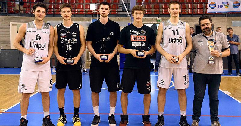 miglior quintetto delle Finali Nazionali Under 18 Eccellenza