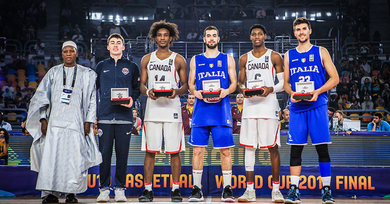 all-star 5 fiba u19 world cup 2017