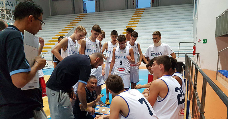 u16 italia montenegro torneo roseto