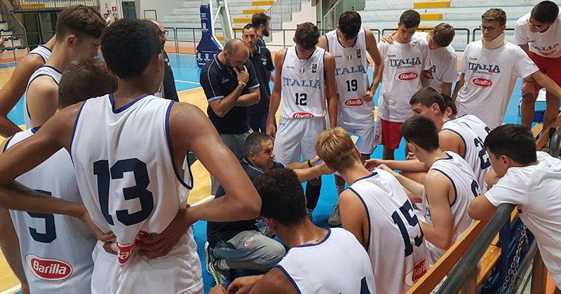 u16 italia slovenia torneo roseto