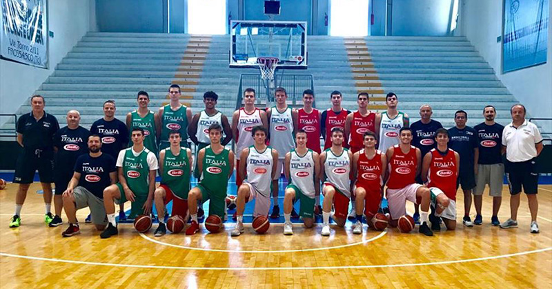 Italia Under 18: Conti, Erik Czumbel e Ladurner in evidenza a Roseto