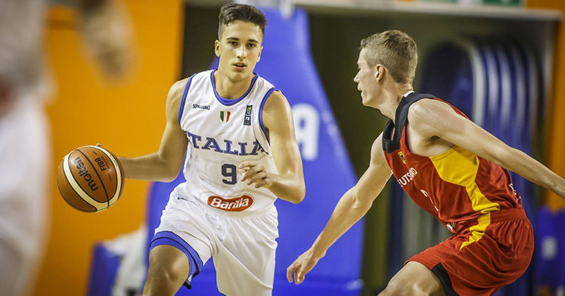 europeo u16 italia batte germania esordio