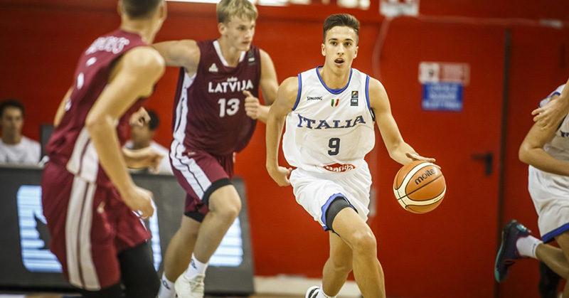 europeo u16 italia batte lettonia vola quarti