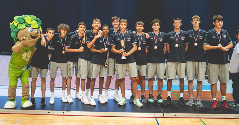 slovenia ball nazionale u14 batte polonia bronzo