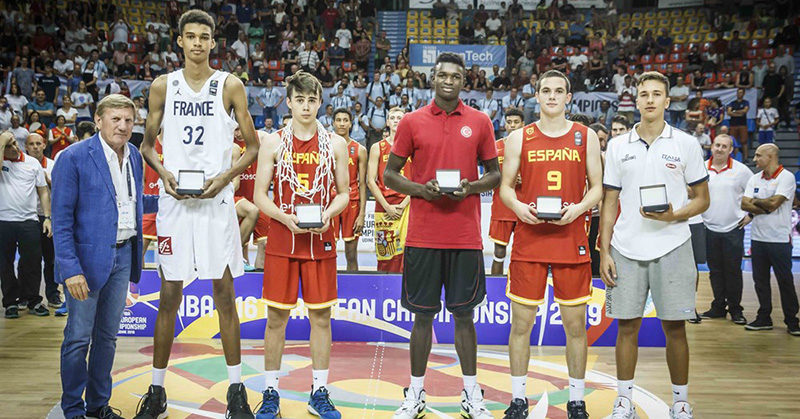 spagnolo all-star five fiba u16 europe