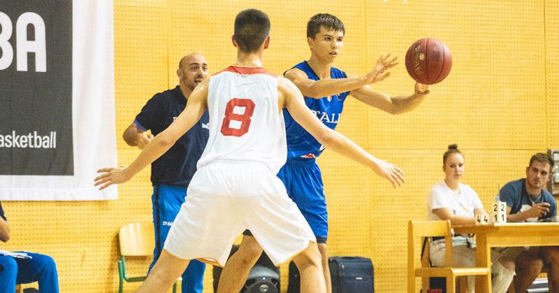 slovenia ball 2019 nazionale u14 sconfitta da israele