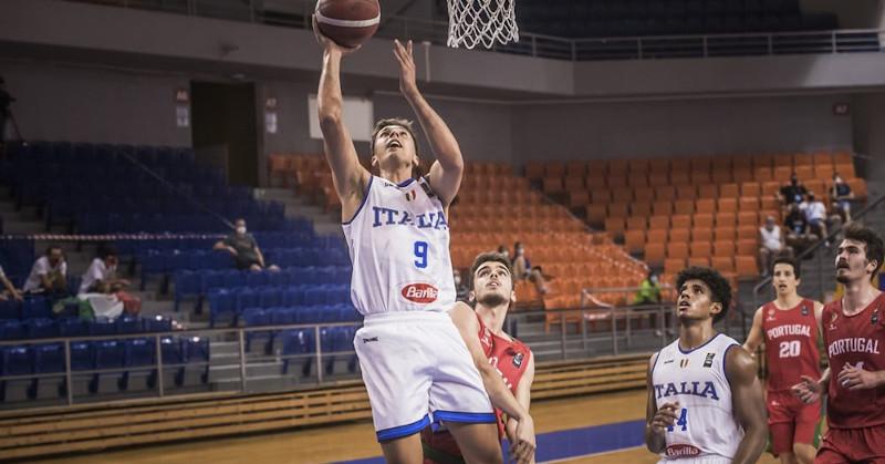 FIBA U20 European Challenger Italia sconfigge Portogallo